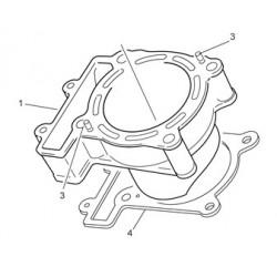4- JUNTA CILINDRO 0.3 mm ENDURO 4T