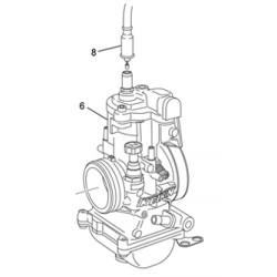 8- CABLE DE GAS ENDURO