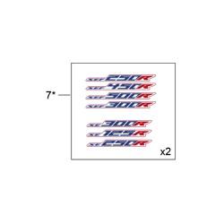 7- JUEGO ADHESIVOS 250 SE RACING 2020