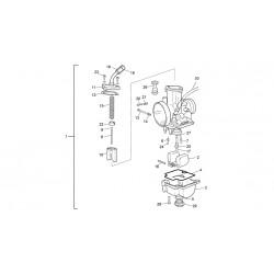 1- CARBURADOR KEIHIN TRIAL 2T V3 3.5